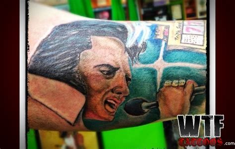 elvis tattoo fail 116 best images about really bad tattoos on pinterest