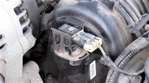 changing map and maf sensors in a 2002 pontiac grand prix 3800 series 2 v6