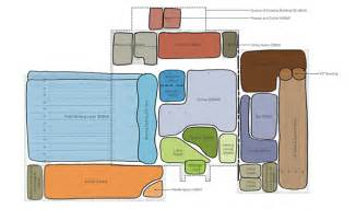 block diagram interior design family entertainment center on behance