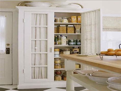 tall white kitchen pantry cabinet decor ideas