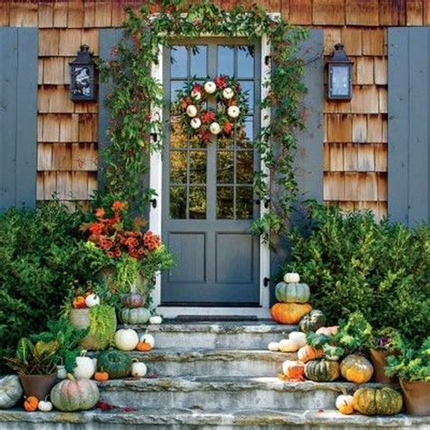 southern living fall decorating ideas incorporate white pumpkins pumpkin ideas for your front