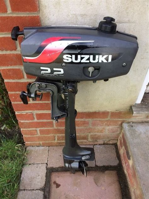 motor boats for sale bournemouth suzuki 2 2hp outboard motor in bournemouth dorset gumtree