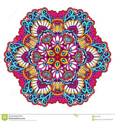 mandala meaning of colors decorative mandala color stock vector image 62440184