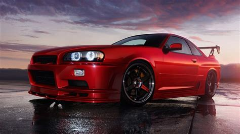 red nissan red nissan skyline wallpaper image 38