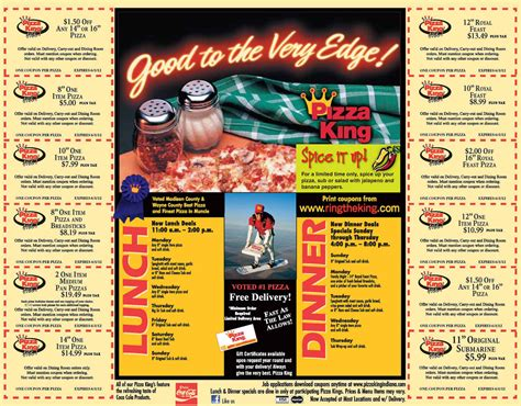 Open Records Promo Code Pizza King Coupons Pizza King Caspian Pizza Birmingham