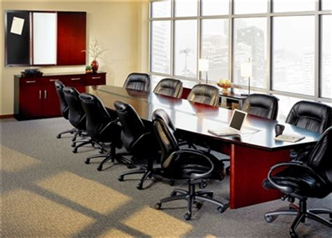 mayline corsica wood veneer conference room tables in