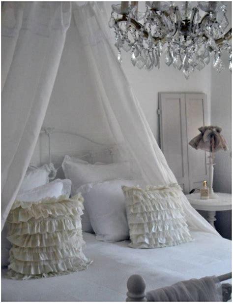 bett baldachin stilvolle dekorationsideen schlafzimmer kreative bilder