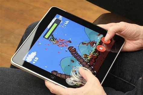 design game on ipad fling joystick lets you get physical with super megaworm