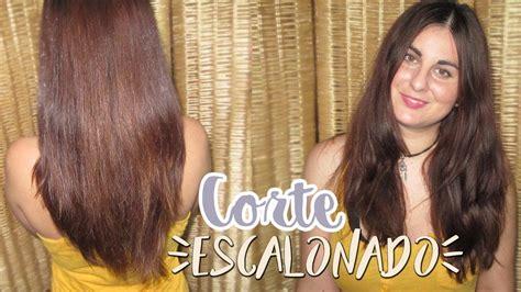 corte de pelo escalonado largo corte escalonado sanea tu cabello sin perder el largo
