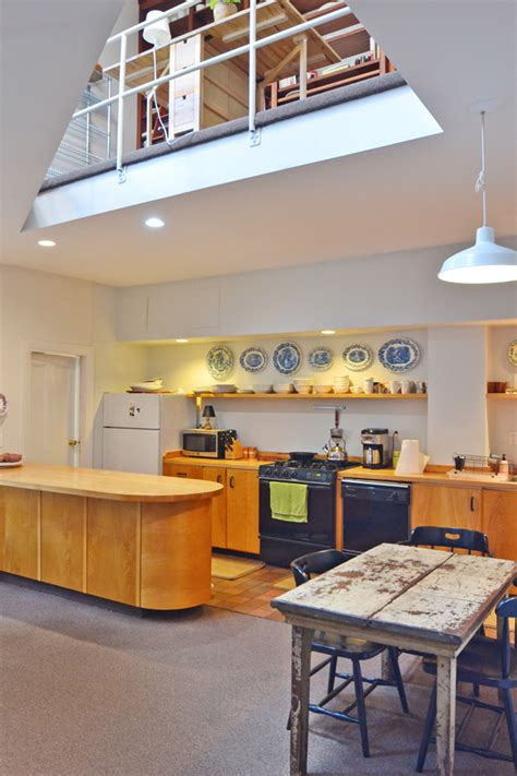 South End Kitchen by South End 2 Level Loft In Gorgeous Brownstone Boston