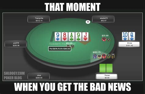 eliize straight vs river shove funny poker meme a life