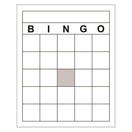 free blank bingo card template for teachers blank bingo cards walmart
