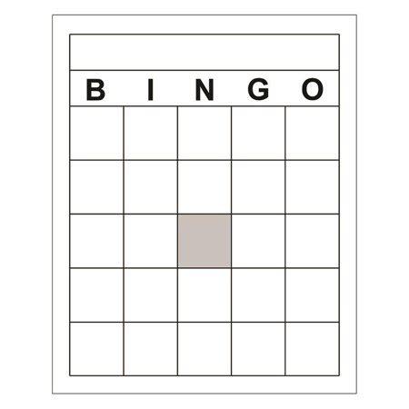 6 x 6 bingo card template blank bingo cards walmart