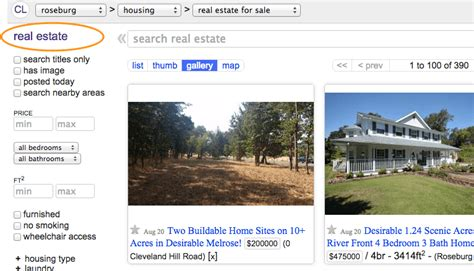 craigslist real estate ad templates choice image