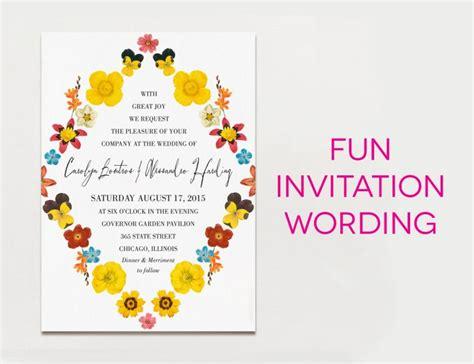 Creative Wedding Invitation Wording