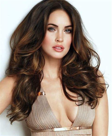 brunette hairstyle with lots of hilights for over 50 60 hairstyles featuring dark brown hair with highlights