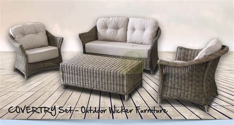 synthetic wicker outdoor furniture coventry set outdoor wicker furniture