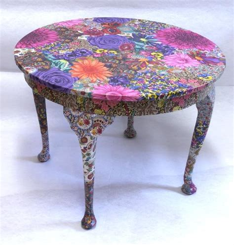 Fabric Decoupage Furniture - fabric decoupage furniture photos