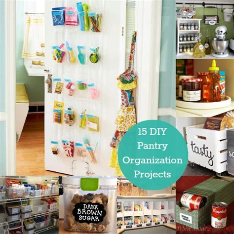 diy crafts for home organization 15 diy pantry organization projects to start today