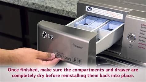 Water Leaking From Detergent Drawer lg front load washer how to prevent leaking issues