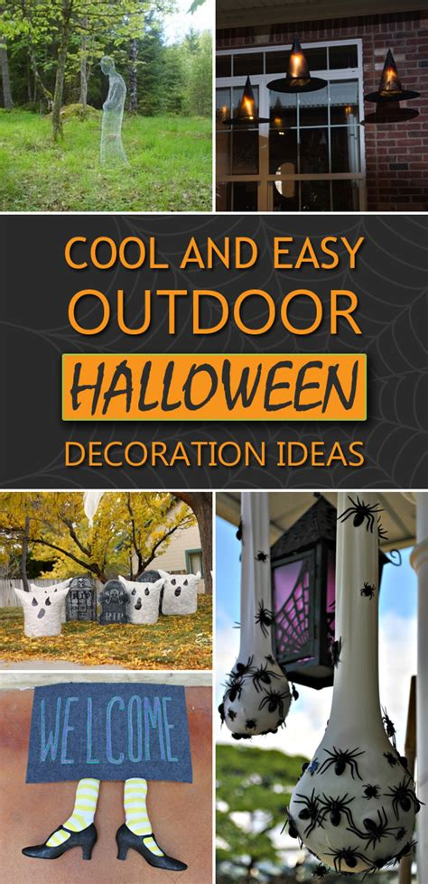 easy diy outdoor decorations cool and easy diy outdoor decoration ideas
