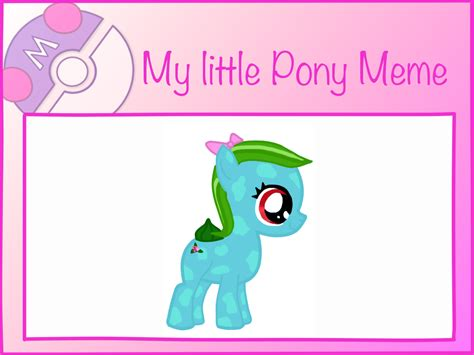 My Little Pony Meme - my little pony meme jenna bloom by stonesliver on deviantart