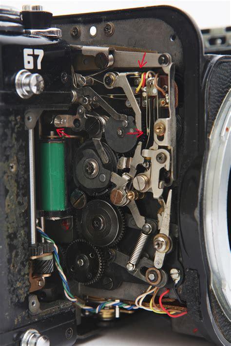 pentax repair pentax 6x7 67 mirror stuck repair step by step guide