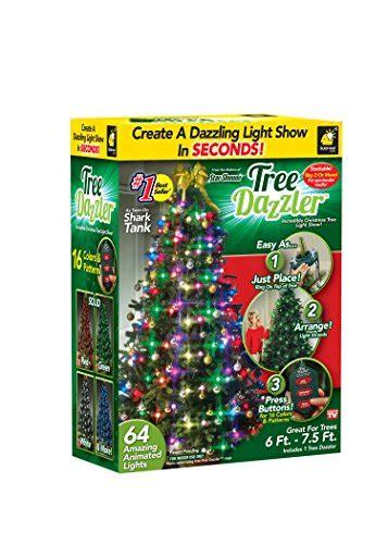 star shower tree dazzler led light show sparkling christmas tree