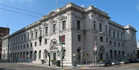 Post Office Sf by R Browning United States Court Of Appeals Building