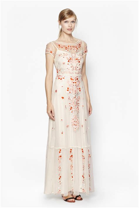 Embroidered Maxi Dress seychelles embroidered maxi dress click and collect