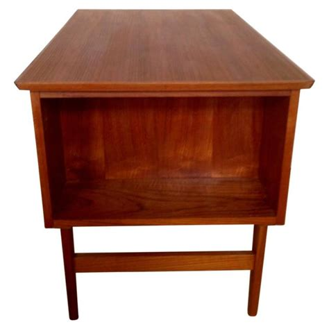 Small Mid Century Desk Mid Century Small Teak Desk For Sale At 1stdibs