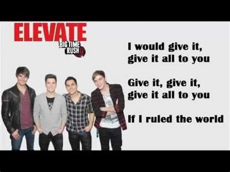 download coldplay rule the world mp3 if i ruled the world big time rush ft iyaz lyrics
