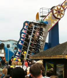 swing ride collapse skegness fairground woman seriously injured and 22 thrill