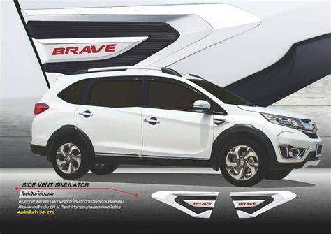 Honda Brv Cover Premium Durable Black honda br v brv 16 2015 2017 to side vent cover trim black chrome fitt trim 2 pc ebay