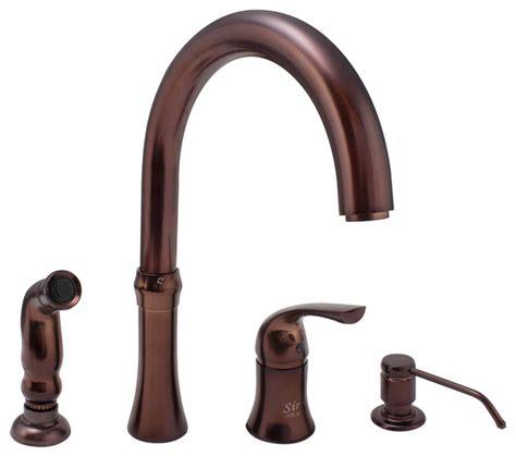 Kitchen Faucets Direct Mr Direct 710 4 Kitchen Faucet Rubbed Bronze