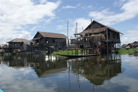 Small Beach House On Stilts Myanmar Burma With Kids Lake Inle Part 1 Houses On