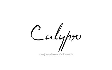 mythological names calypso mythology name designs tattoos with names