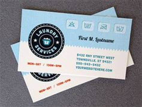 laundry card template 1000 images about business cards templates on