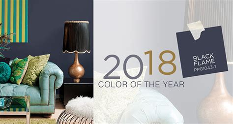 ppg 2018 color of the year ppg1043 7 black fashion trendsetter