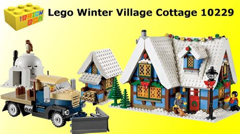 lego winter village cottage 10229 review youtube