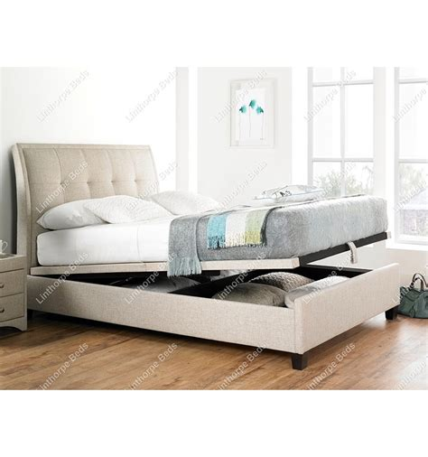 ottoman beds with mattress kaydian accent ottoman storage bed frame