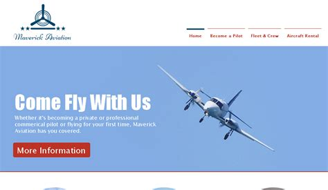 Download Free Top Best Flight School Website Templates Helpers Ways Flight School Website Template