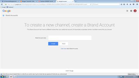 cara membuat youtube channel dari hp cara membuat channel youtube