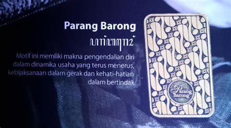 daftar harga emas batangan antam motif batik bisnis liputancom