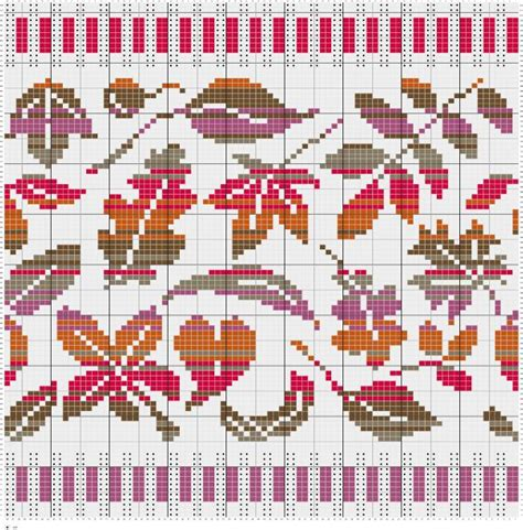 leaf pattern knitting charts 17 best images about knitting charts on pinterest fair