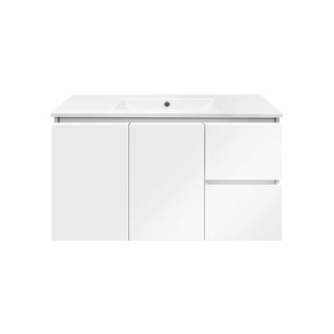 White Wall Hung Vanity by Forme Parclane 900mm White Porcelain Wall Hung Vanity Top