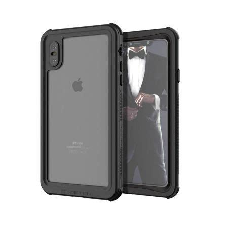 ghostek nautical 2 iphone xs max waterproof black