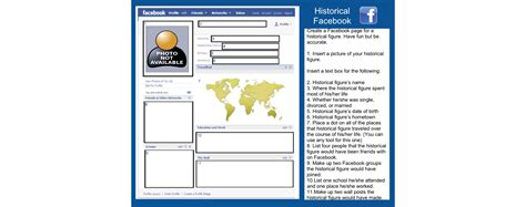 farcebook template related keywords suggestions for history