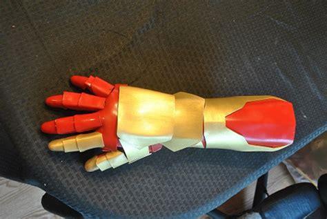 iron man marvel mark handmade gaunlet glove