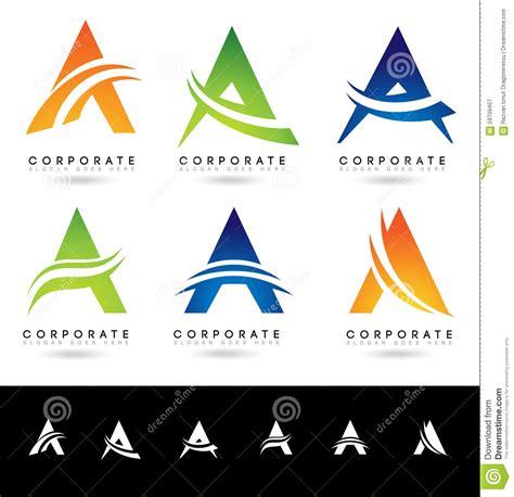 make my logo a vector letter a logo designs stock vector image of abstract 59709407